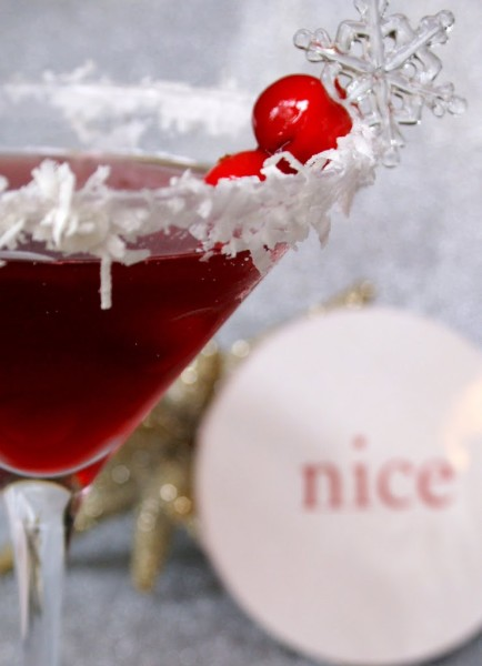 christmas holiday cocktail