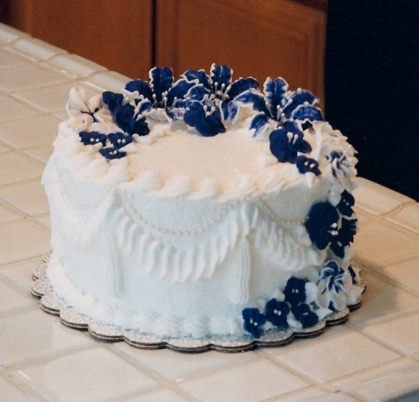 old school cake decorating
