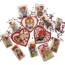 valentine waffer paper