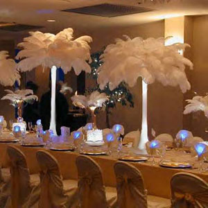 glowing tablescapes