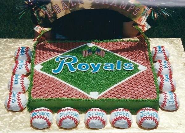 kansas city royals cake