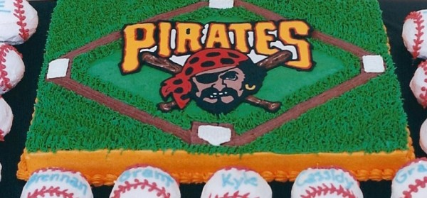 Pittsburgh Pirates cake
