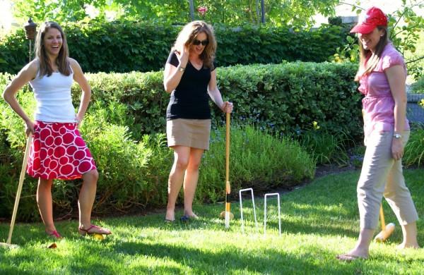 backyard croquet