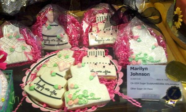 OC Fair Wedding Cookies