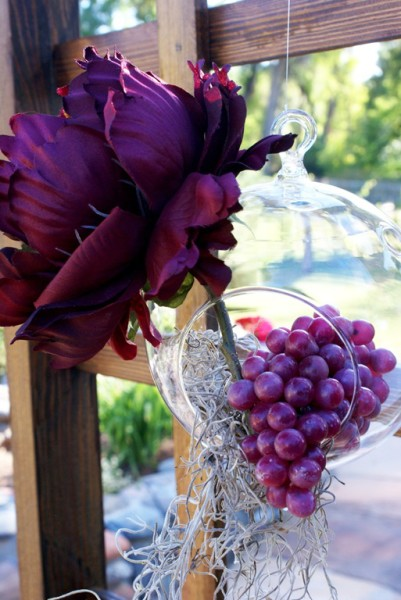 vineyard wedding cookie favors