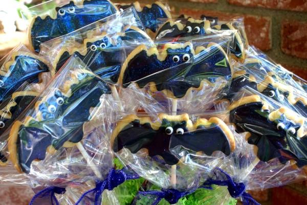 Bat cookies