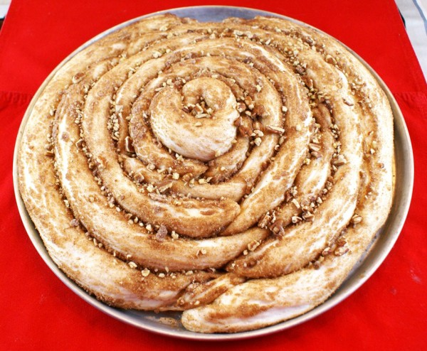 The Best Giant Make-Ahead Cinnamon Roll Ever