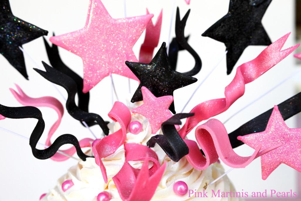 fondant ribbons