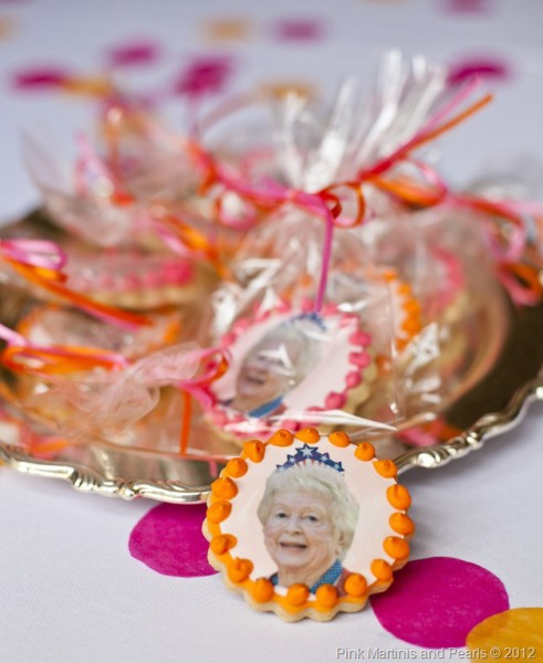 Birthday Party Cookie Favors