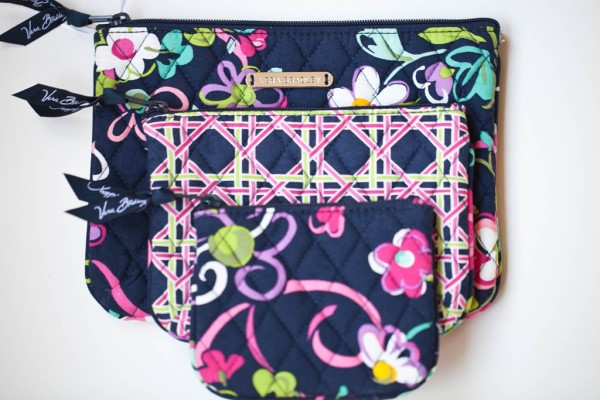 Vera Bradley Give-Away Cosmetic Trio