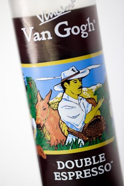 Espresso Martinis, Vincent Van Gosh Double Espresso Vodka