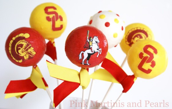 USC cake pops