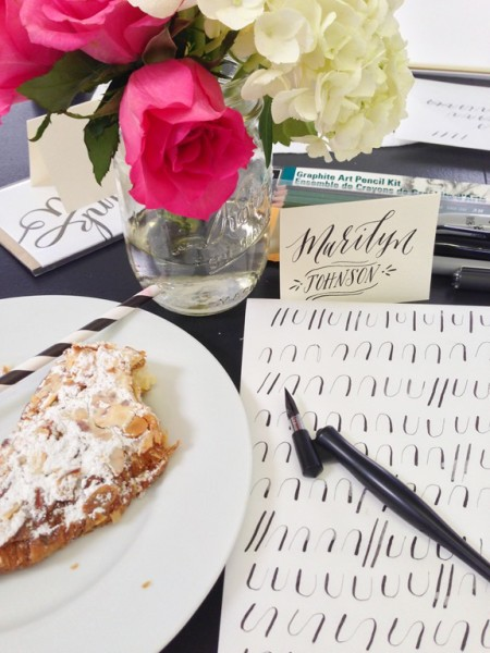 Sugar Paper Calligraphy Class-8