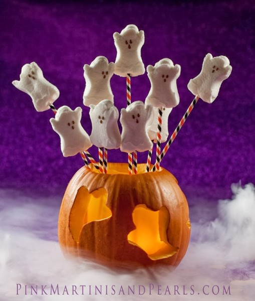 Ghost Peeps craft