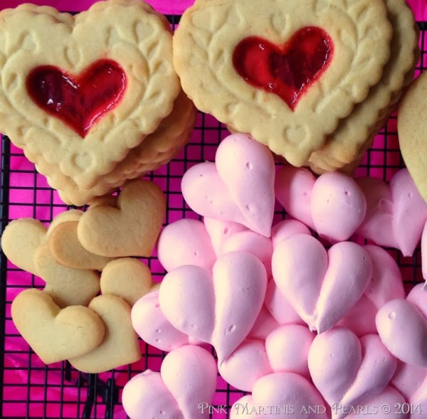 Valentine heart cookies West Elm valentine cookie decorating workshop