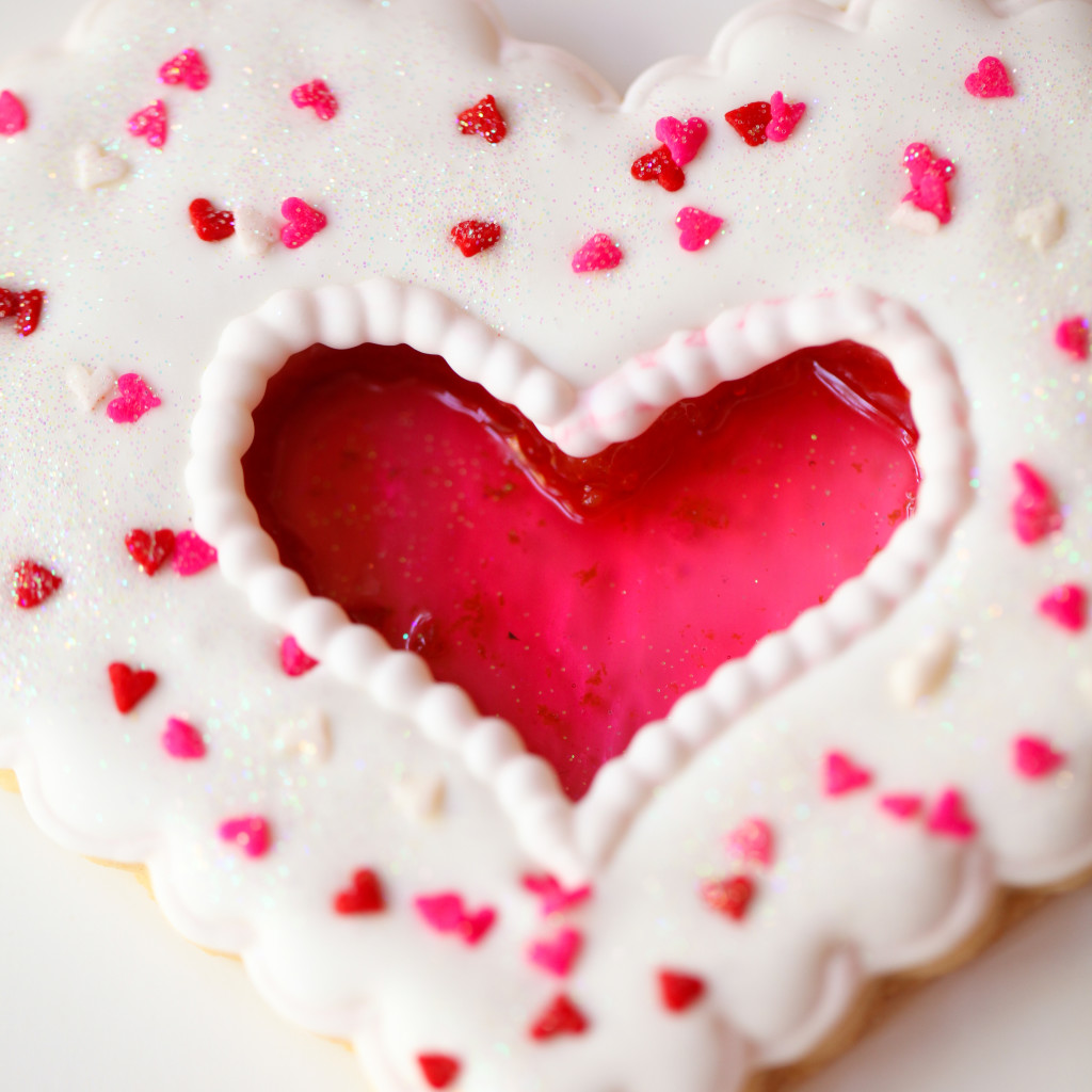 glass heart cookie West Elm valentine cookie decorating workshop-5882