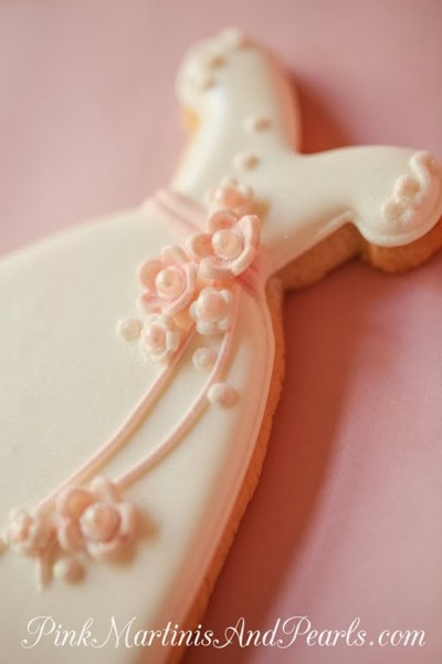 Bridal Shower Wedding Dress Cookie-5922