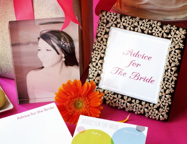 Shutterfly Bridal Shower Notepad6955