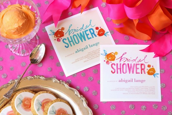 Shutterfly Bridal Shower Invitation