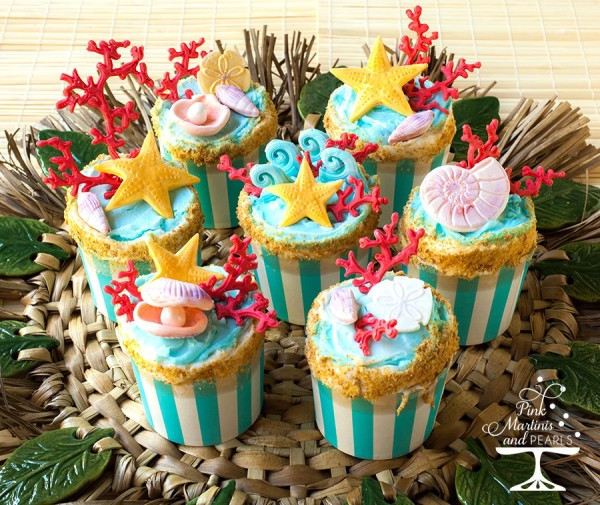 Endless Summer  Beach Cupcakes 900