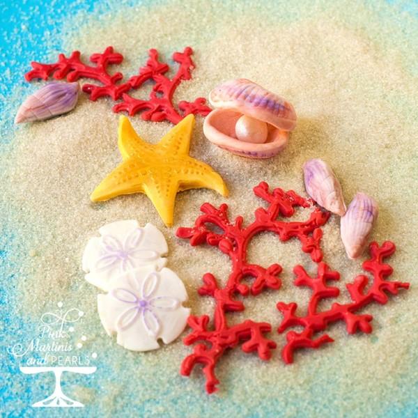 Seashell Fondant