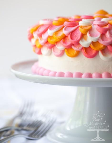Pretty Pink Petal Cake Wilton 7612-2