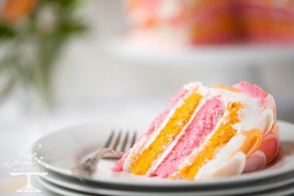 Pretty Pink Petal Cake Wilton 7626