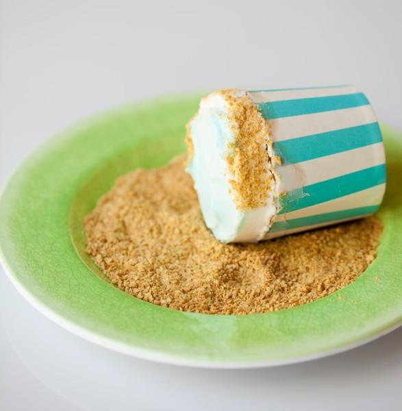 sealife cupcakes sand
