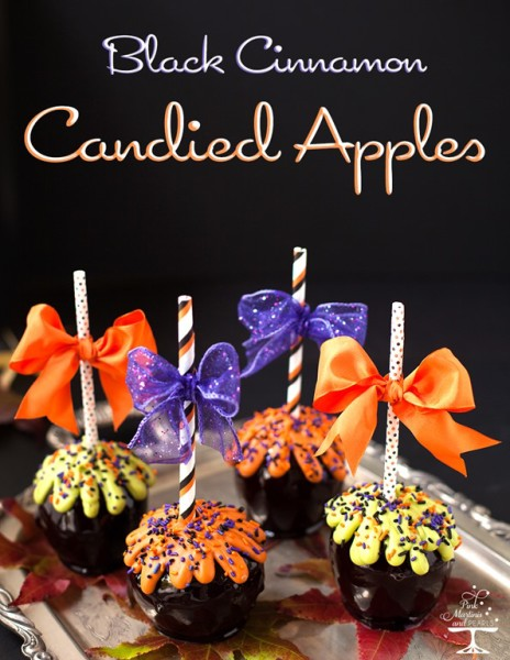 Wilton black cinnamon candies apples