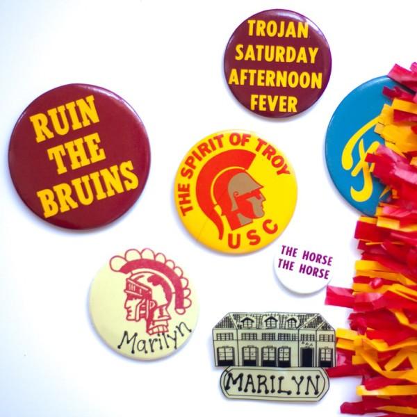 USC Spirt Buttons