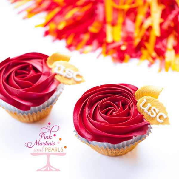 USC Cupcakes Rose Bowl