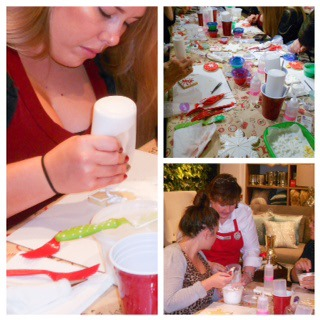 West Elm Holiday Cookie Decorating Workshop Marilyn Johnson collage 1