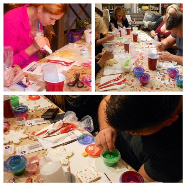 West Elm Holiday Cookie Decorating Workshop Marilyn Johnson collage3