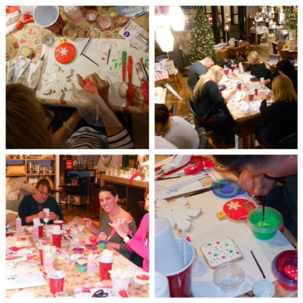 West Elm Holiday Cookie Decorating Workshop Marilyn Johnson collage4