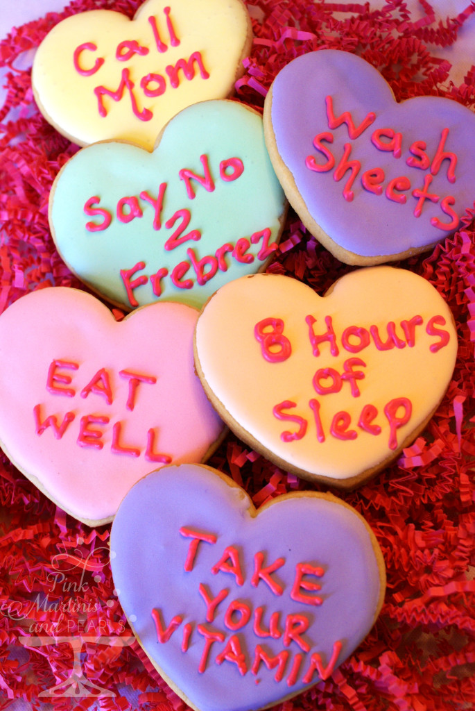 Collegiate Valentine Care Package Conversation Hearts