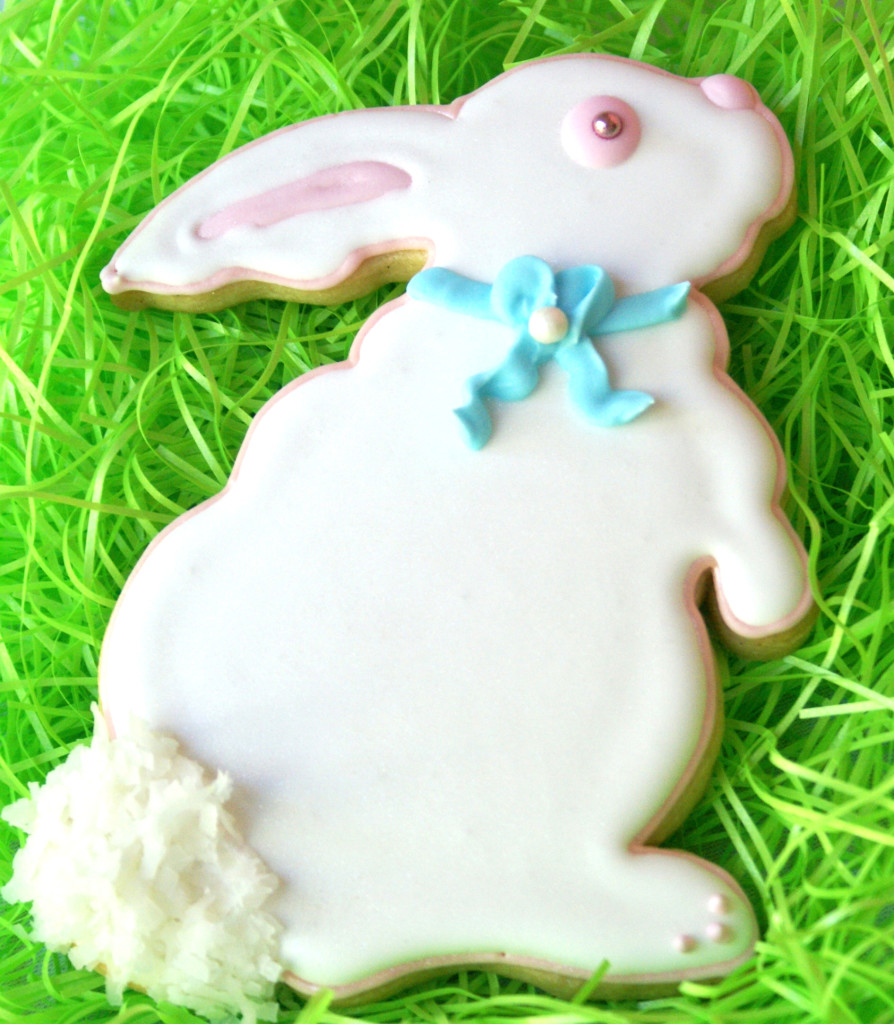 Big Bunny Decorated Cookie