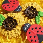 Ladybugs and Sunflower Cookies