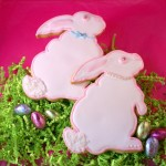 Decorated Bunny Cookies