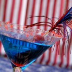 "Red, White & Blue ""Cocktail Of The Month"""