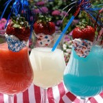 Red, White & Blue Daiquiris