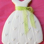 Debutante Ball Gown Decorated Cookie