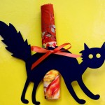 Scaredy Cat Napkin Holder/Place Card