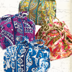 "Vera Bradley ""All Wrapped Up"" Jewelry Roll"