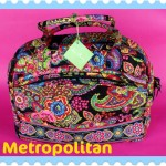 Vera Bradley Metropolitan Travel Bag