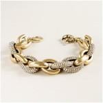 J. Crew Pave Linked Bracelet