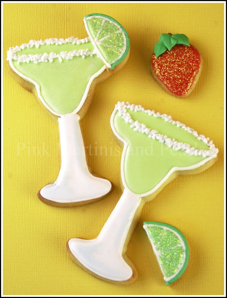 Decorated Margarita Cookies!