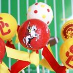USC Collegiate Cake Pops