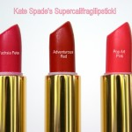 Kate Spade's Supercalifragilipstick! Review