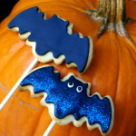 Bat Cookies! with Steamed, Rolled Fondant