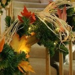 Combining Holiday Decorations On Your Stairs Saves Time, Energy and Calories